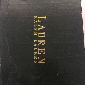 Ralph Lauren Black platform heels